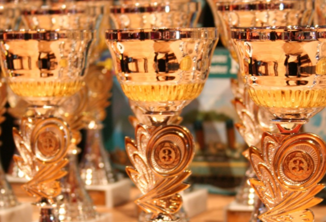 Glas Pokal